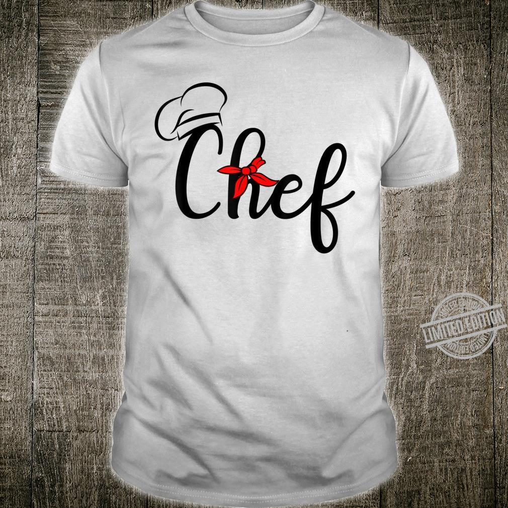 Chef Costume Sous Chef Culinary Shirt