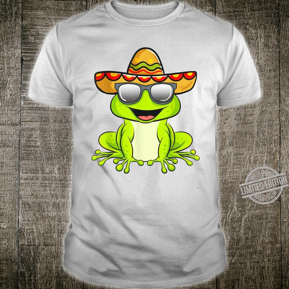 Cinco De Mayo 2020 Shirt Mexican Frog Shirt