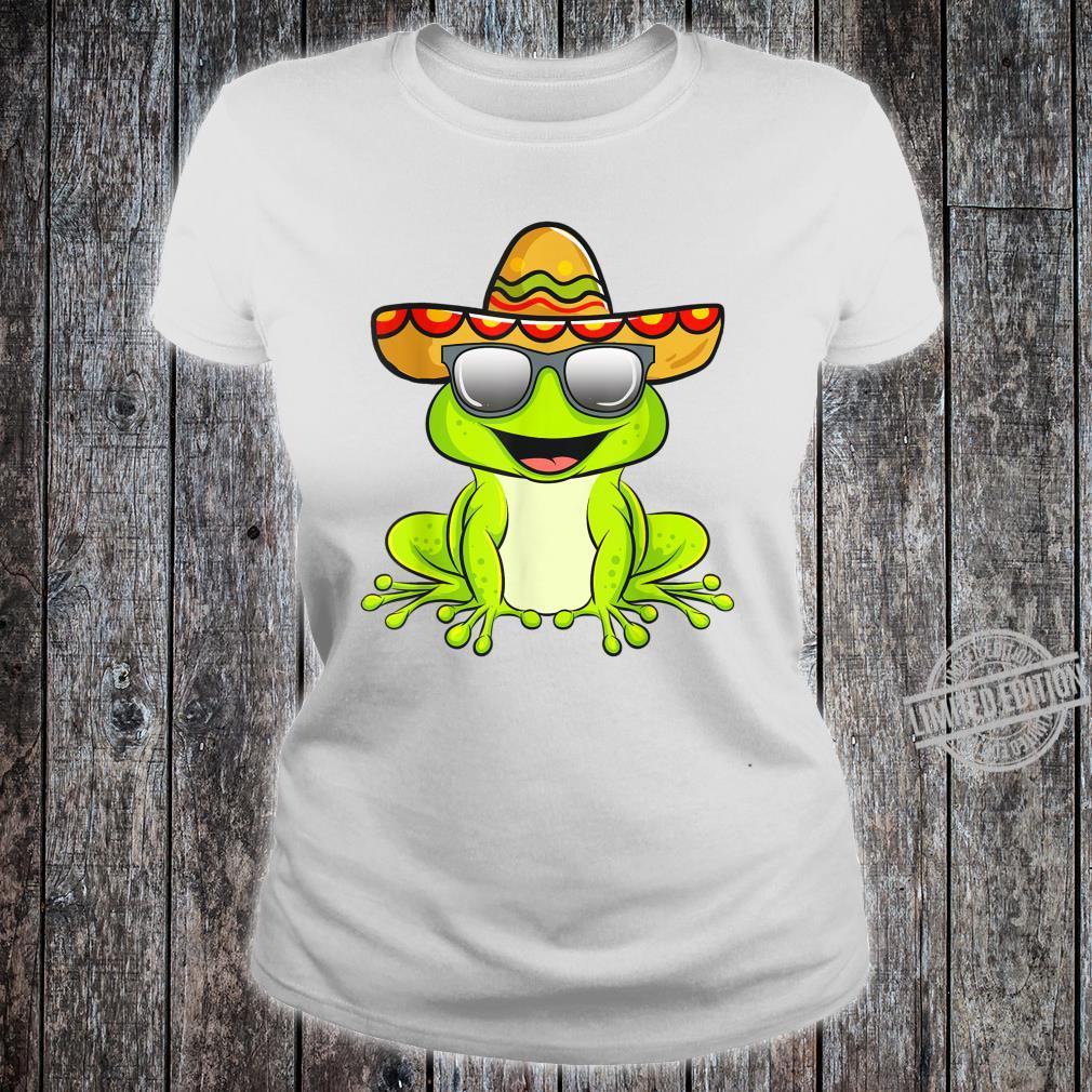 Cinco De Mayo 2020 Shirt Mexican Frog Shirt ladies tee