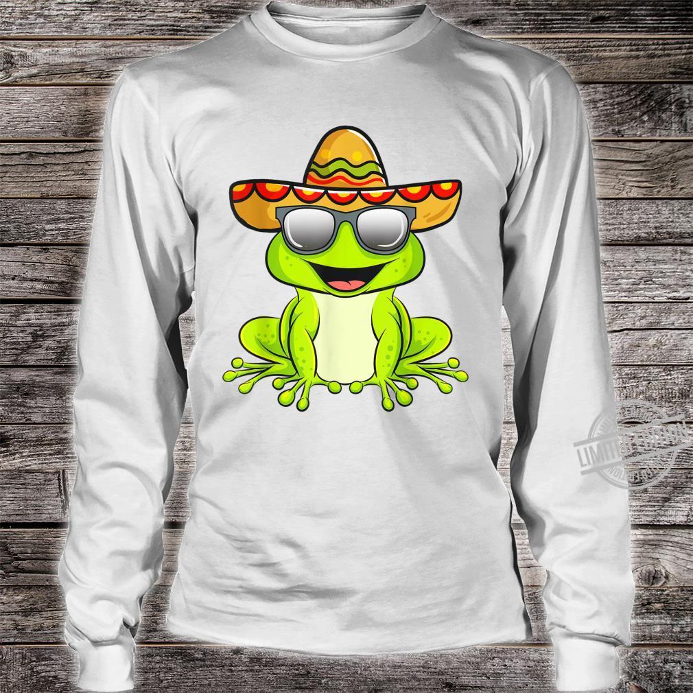 Cinco De Mayo 2020 Shirt Mexican Frog Shirt long sleeved