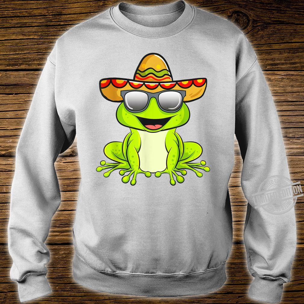 Cinco De Mayo 2020 Shirt Mexican Frog Shirt sweater