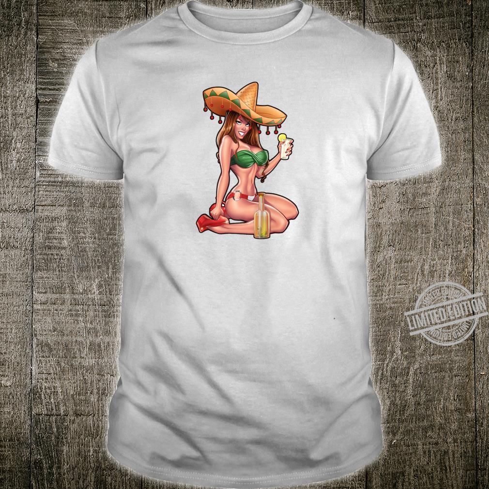 Cinco De Mayo Sexy Cinco De Drinko Mexican girl Shirt