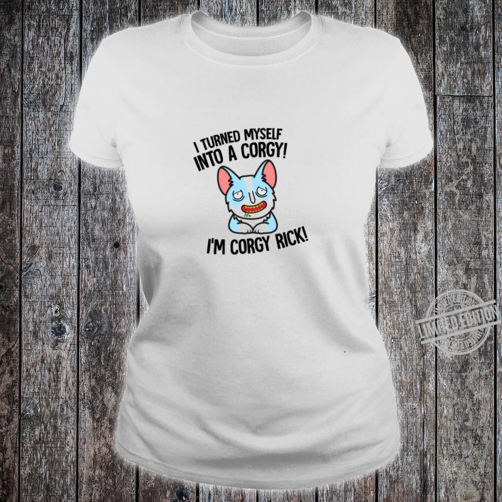 Corgy Rick Shirt ladies tee