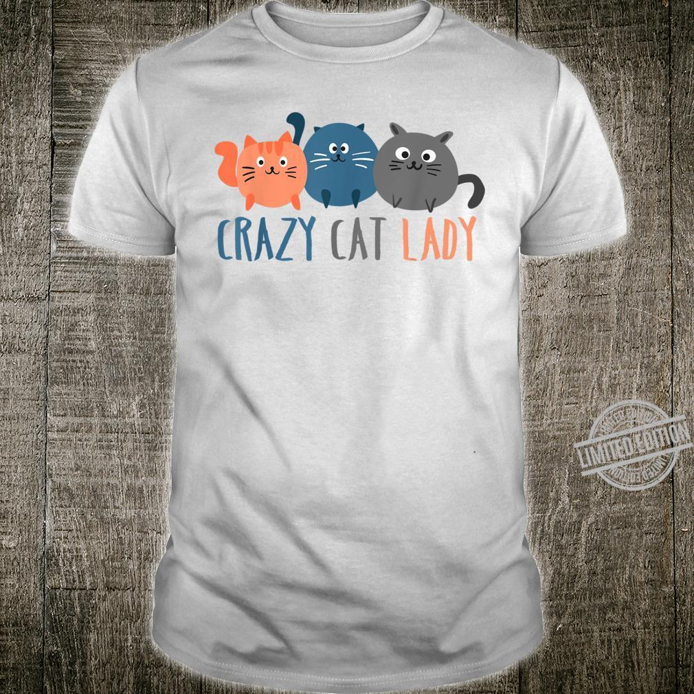 Crazy Cat Lady International Cat Day Hilarious Shirt