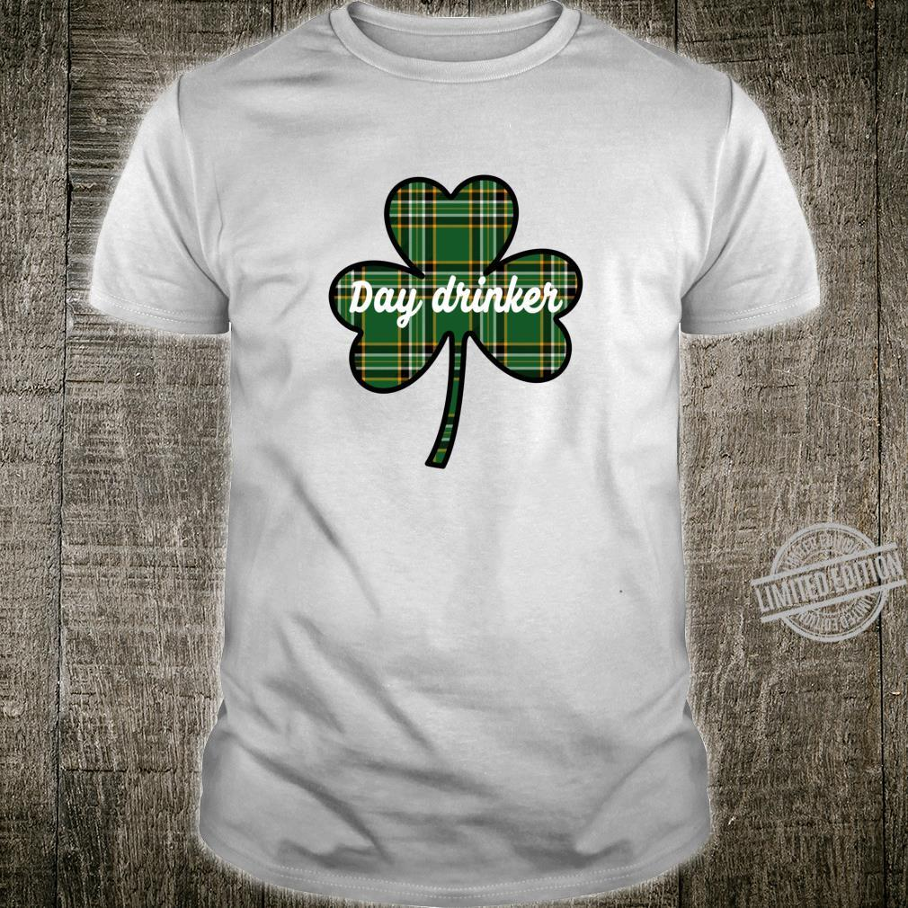Cute St. Patricks Day Outfit Green Plaid Lucky Shamrock Shirt
