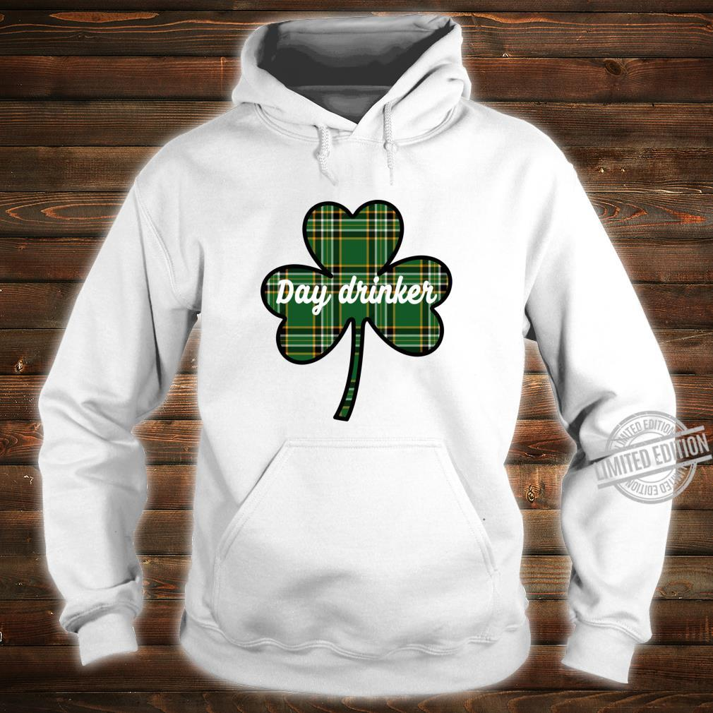 Cute St. Patricks Day Outfit Green Plaid Lucky Shamrock Shirt hoodie