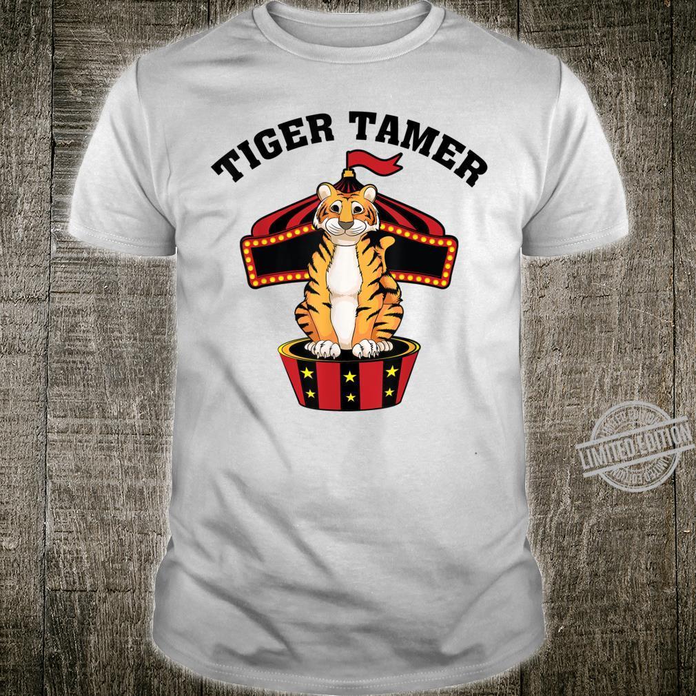Cute Tiger Tamer Carnival Show Performer Shirt