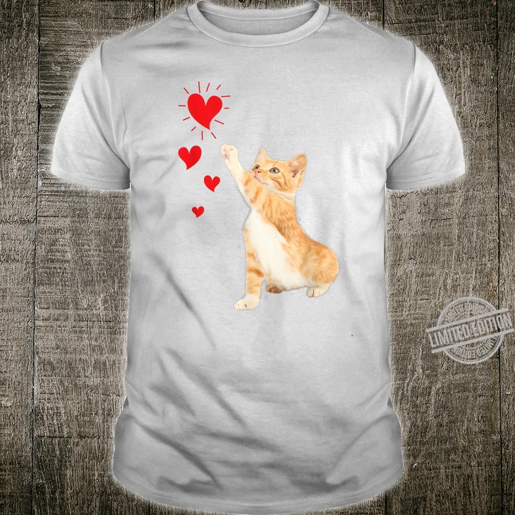 Cute Valentine Kitty Valentine's day Cute Cat Shirt