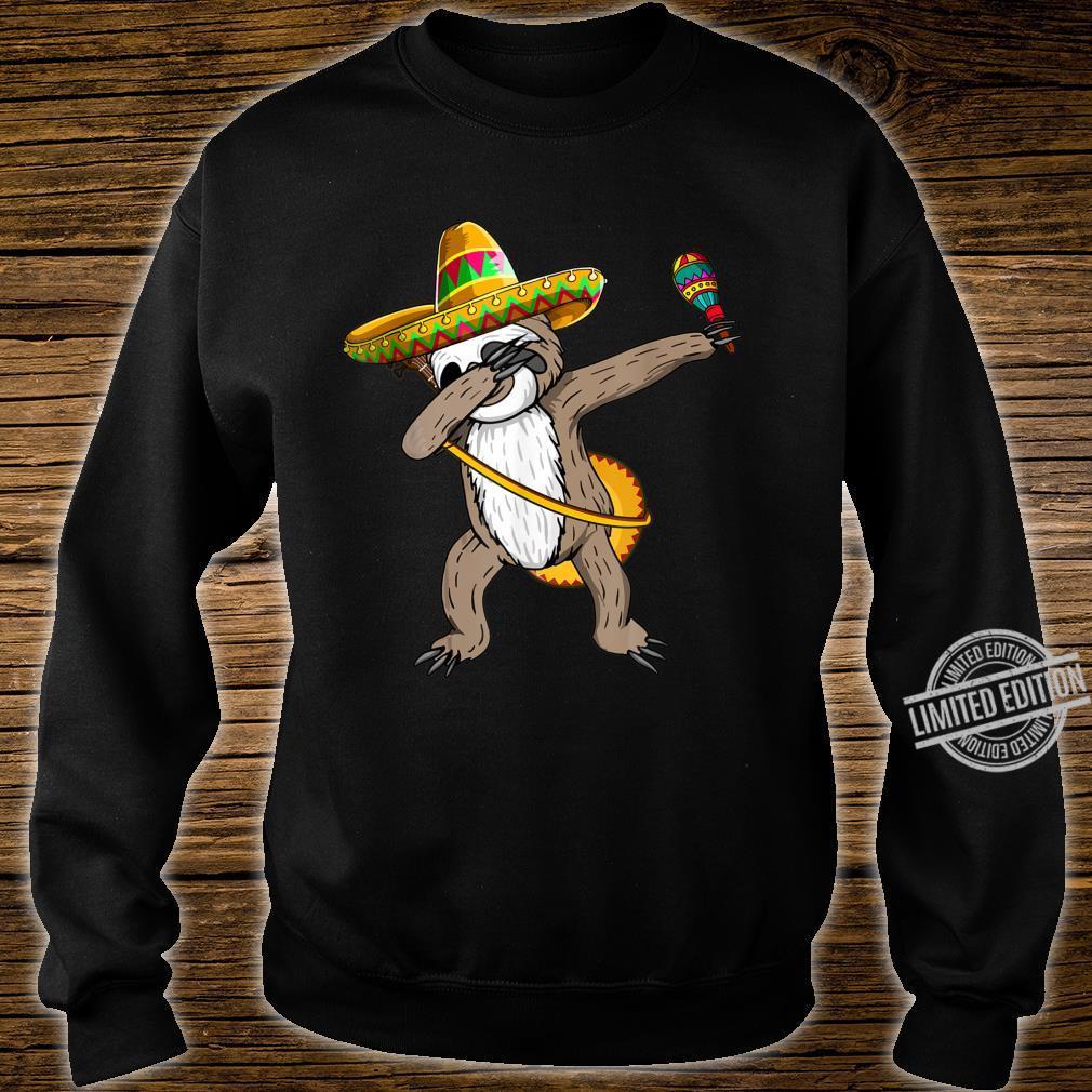 Dabbing Sloth Cinco De Mayo Sombrero Mexican Dab Cute Shirt sweater