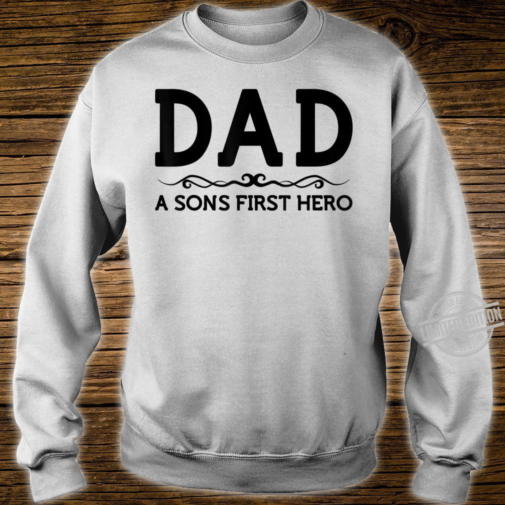 Dad Hero Shirt Son Father Daddy Husband Birthday Shirt sweater