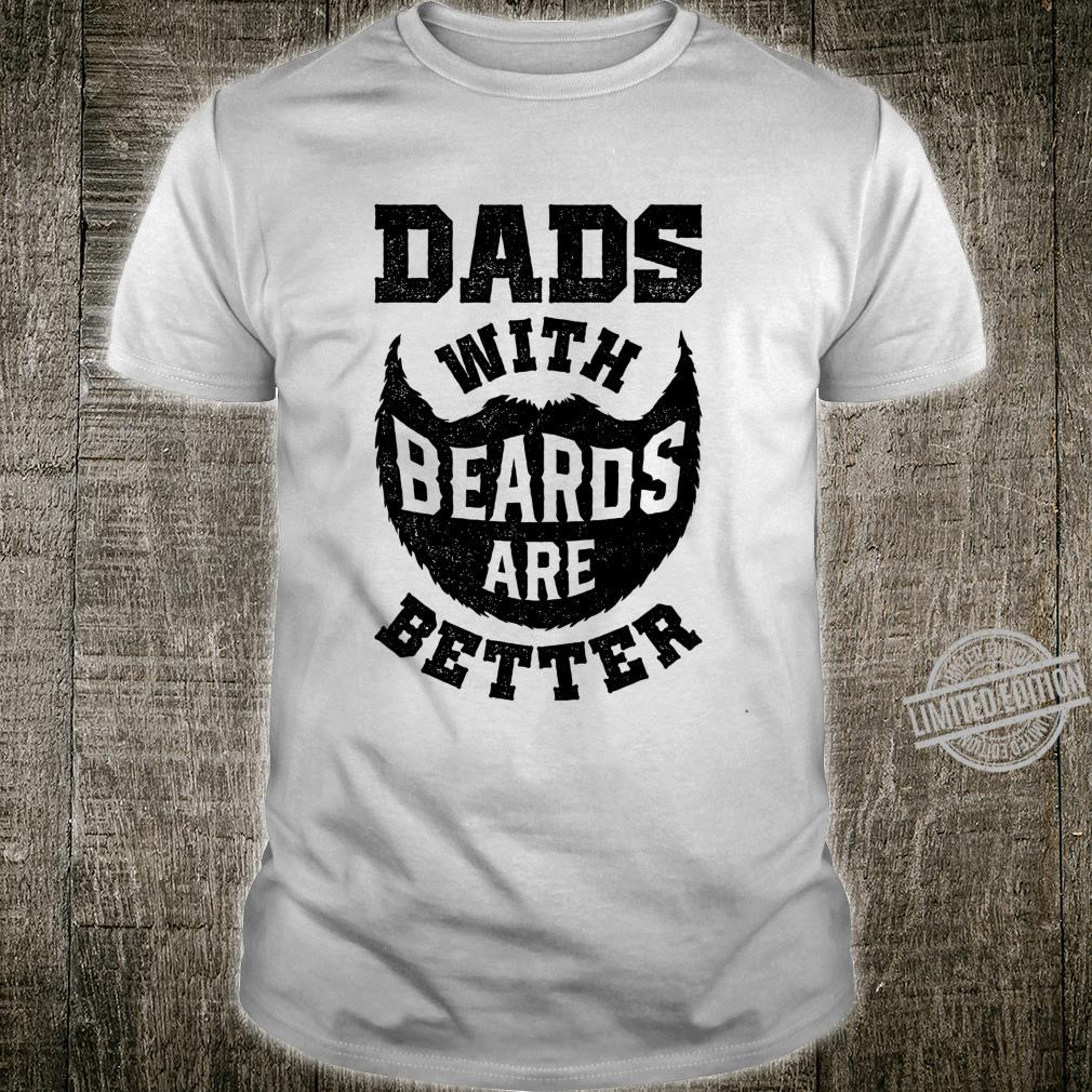 Dads With Beards Are Better Dad Father's Day Langarmshirt Shirt