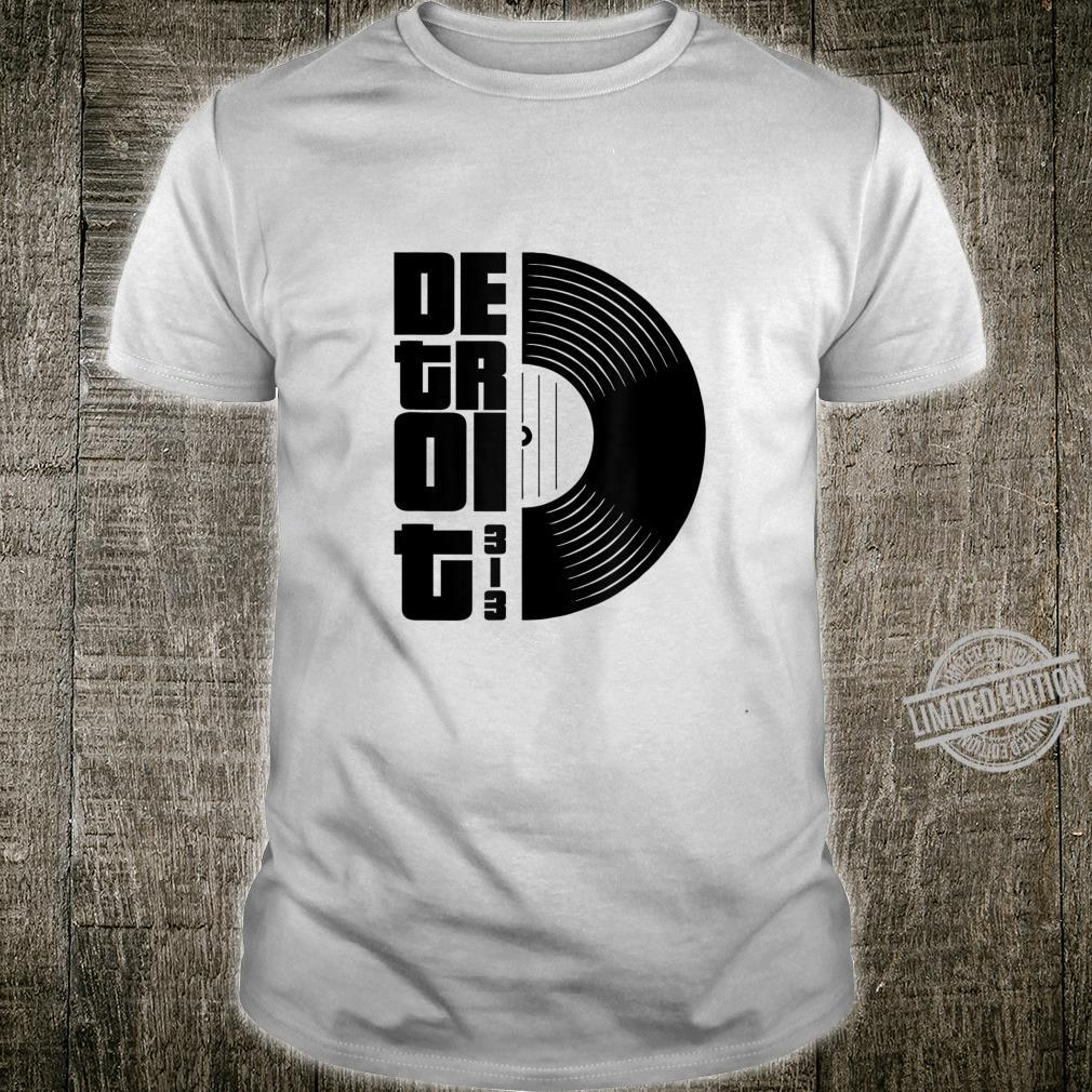 Detroit Vintage Retro 70S Shirt Detroit Cassette 313 Day Shirt