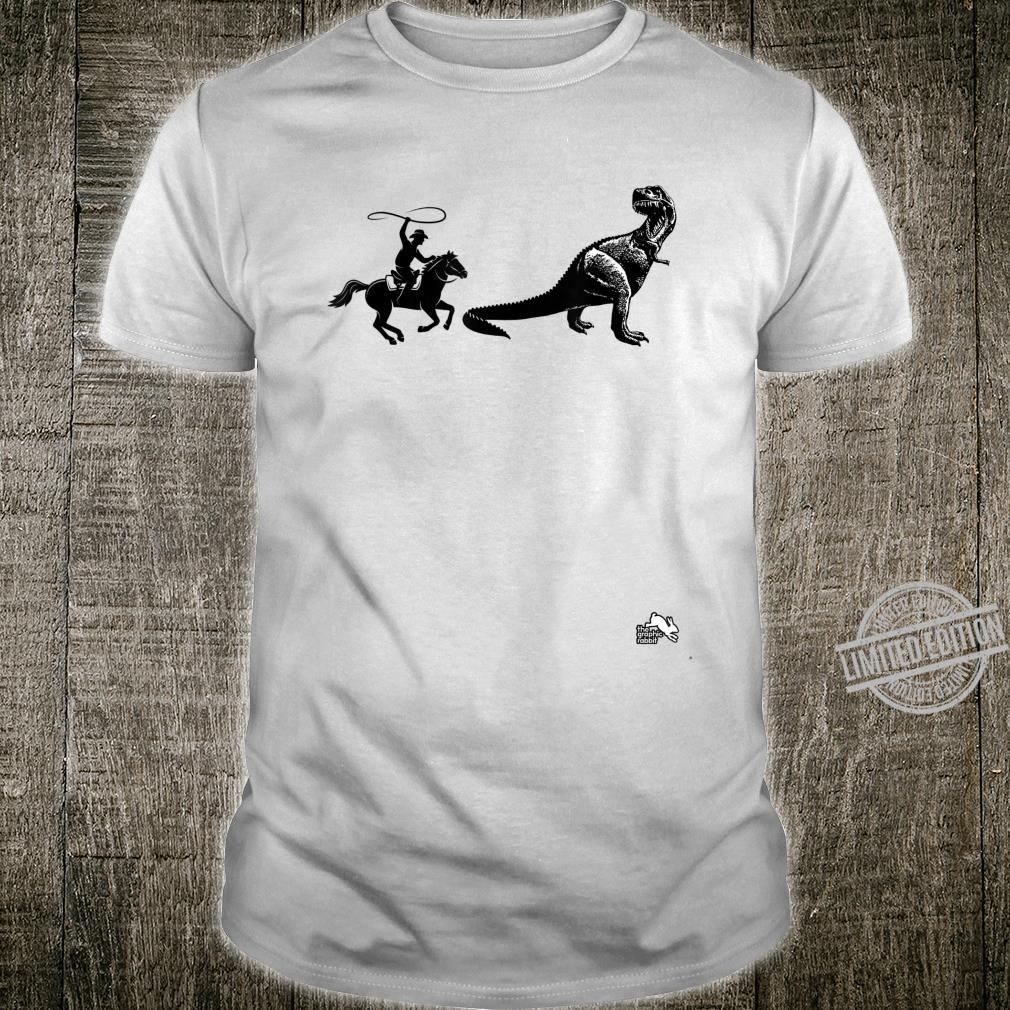 Dinosaur Cowboy Shirt