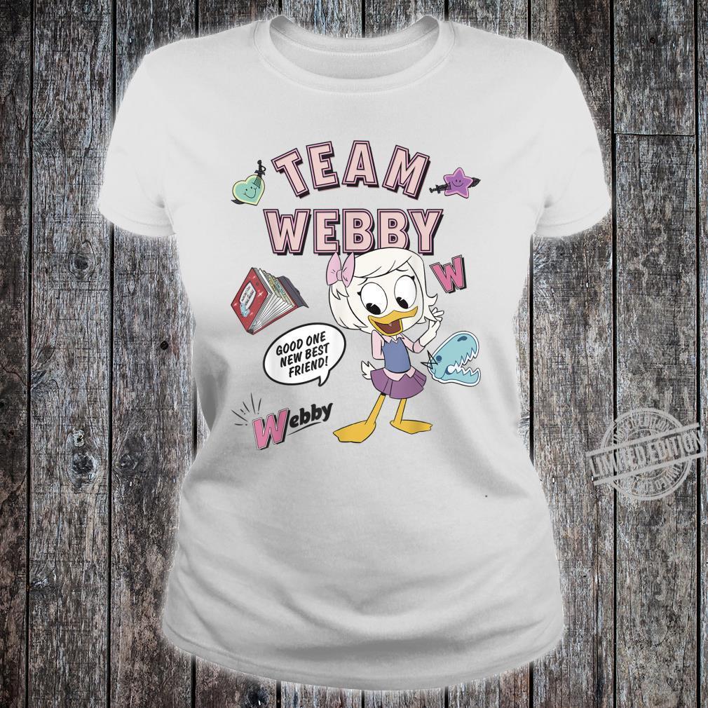Disney DuckTales Team Webby Collage Shirt ladies tee