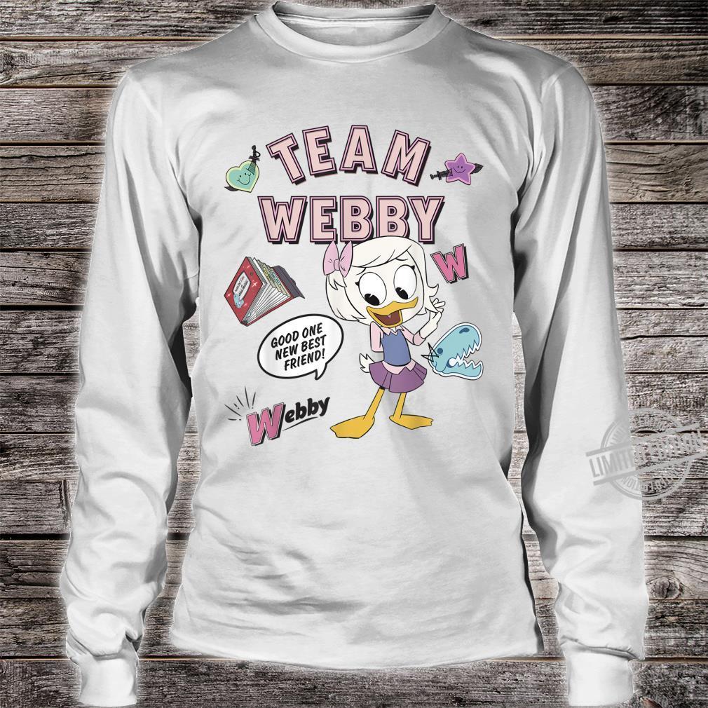 Disney DuckTales Team Webby Collage Shirt long sleeved