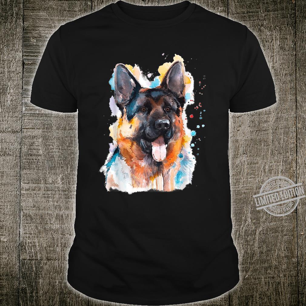Dogs Dog Breed Artistic German Shepherd Shirt