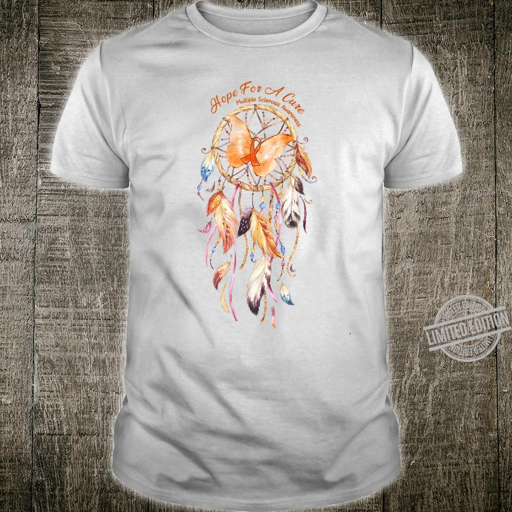 Dreamcatcher Hope For A Cure Multiple Sclerosis Awareness Shirt