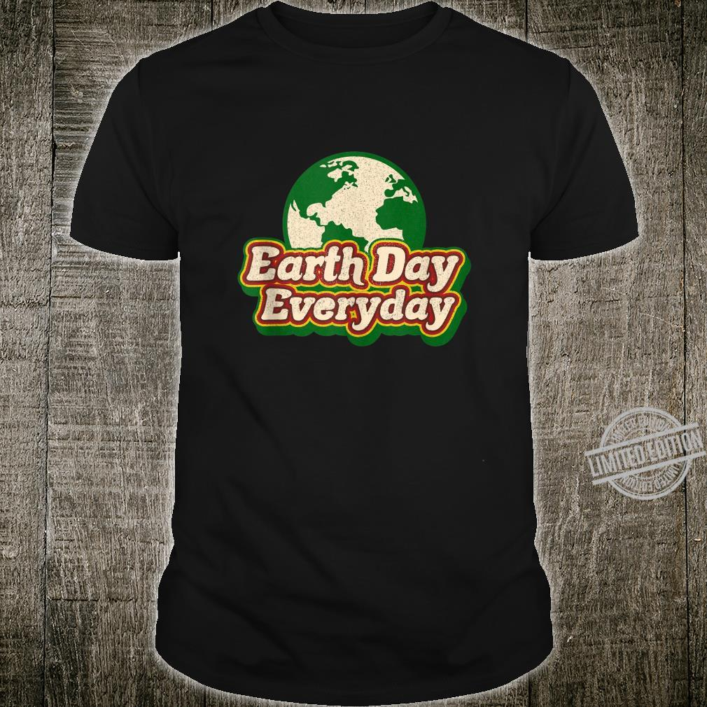 Earth Day Everyday 50th Anniversary Cute Planet Teacher Shirt
