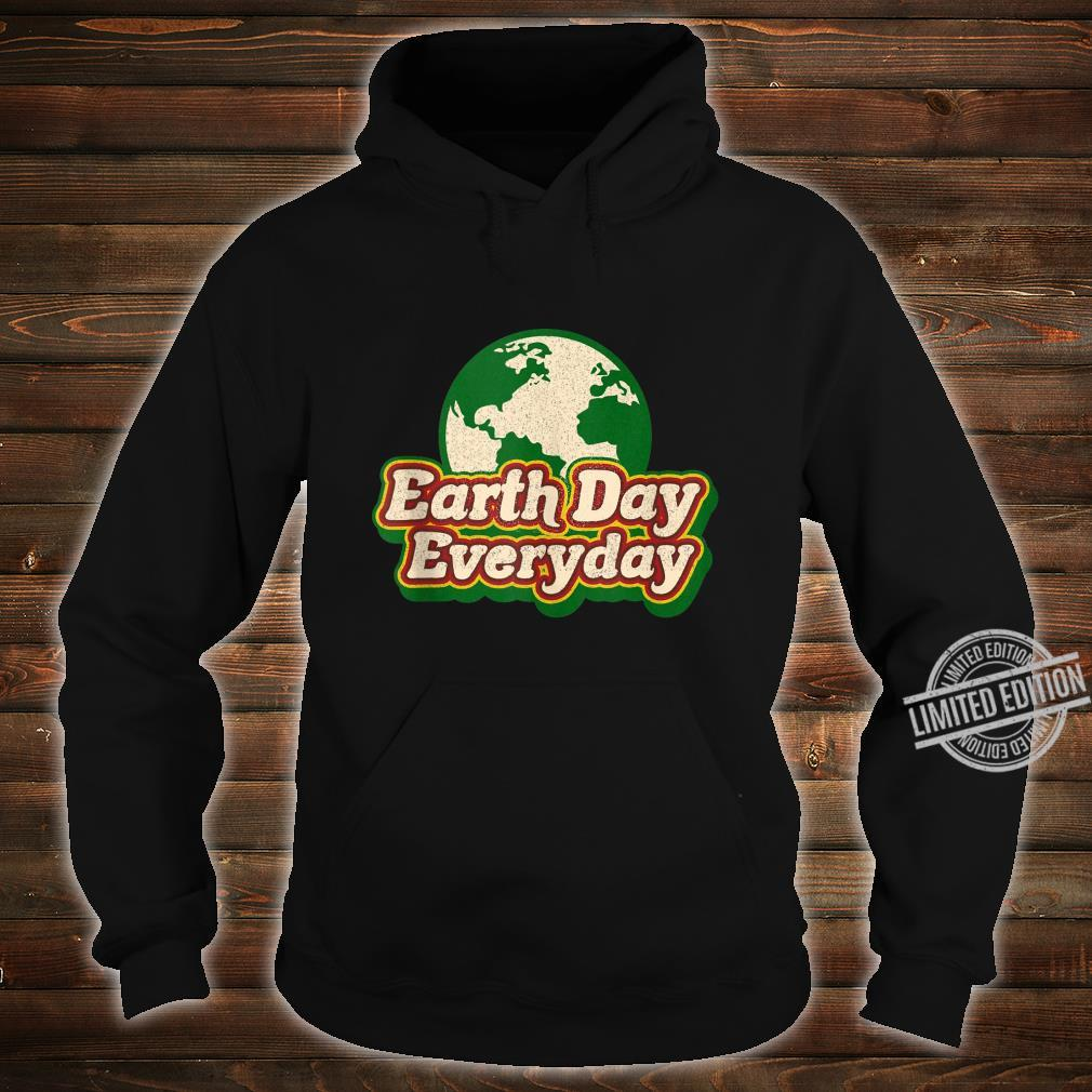 Earth Day Everyday 50th Anniversary Cute Planet Teacher Shirt hoodie
