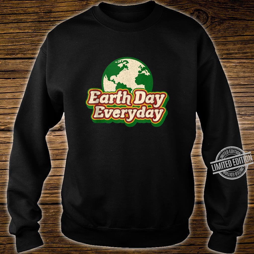 Earth Day Everyday 50th Anniversary Cute Planet Teacher Shirt sweater