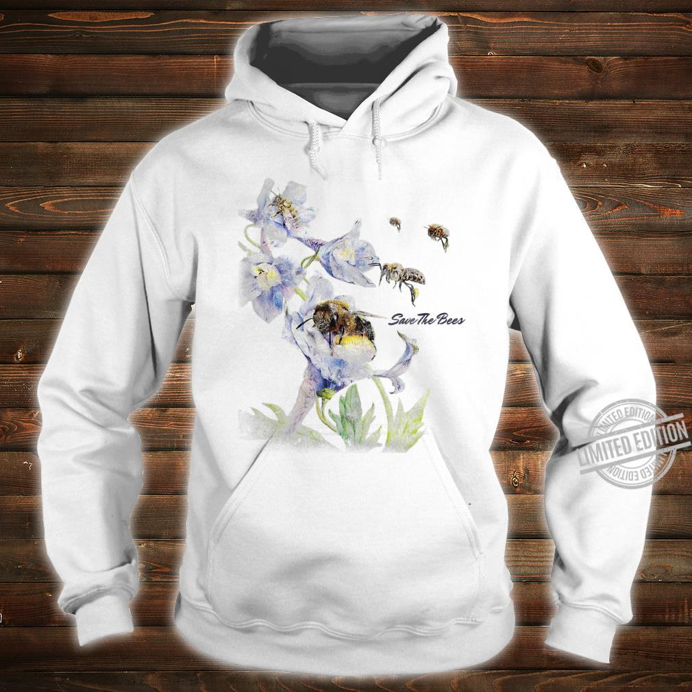 Earth Day Save The Bees Floral Shirt hoodie