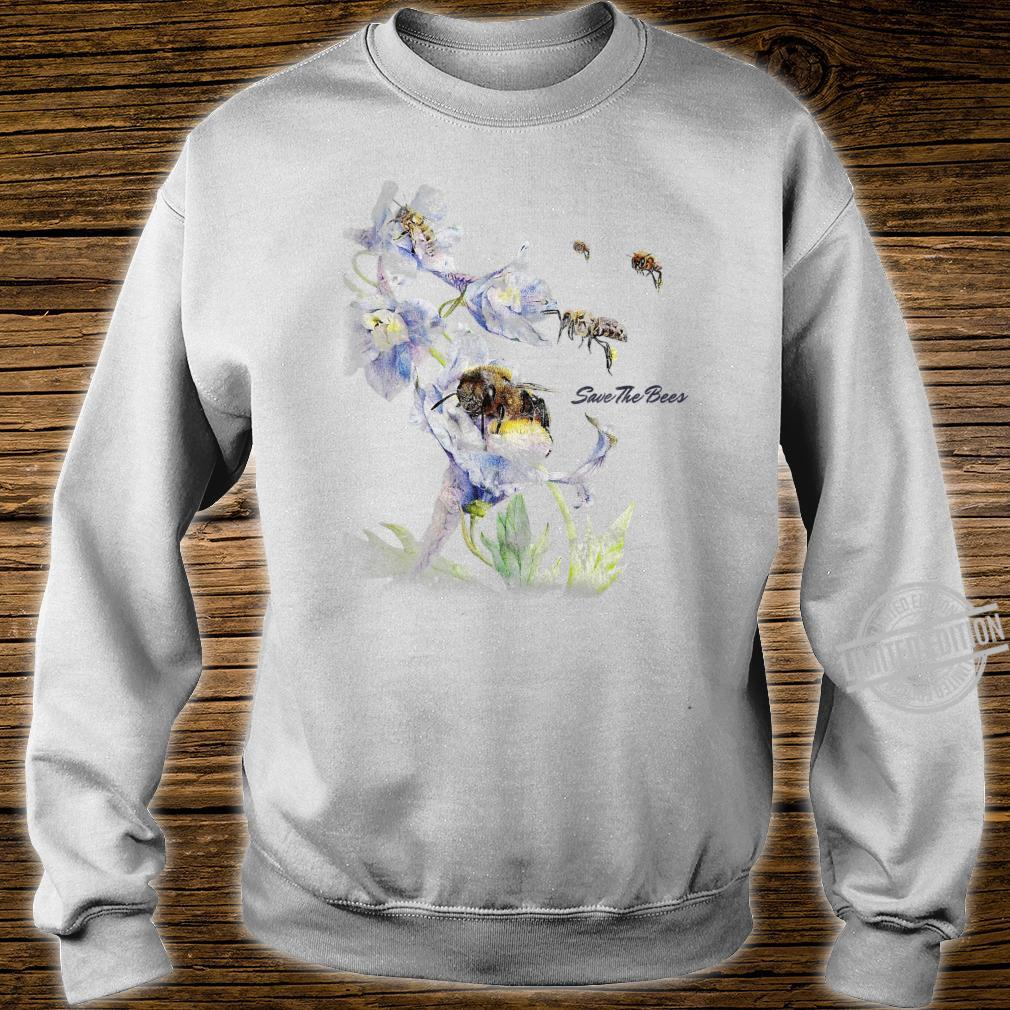 Earth Day Save The Bees Floral Shirt sweater
