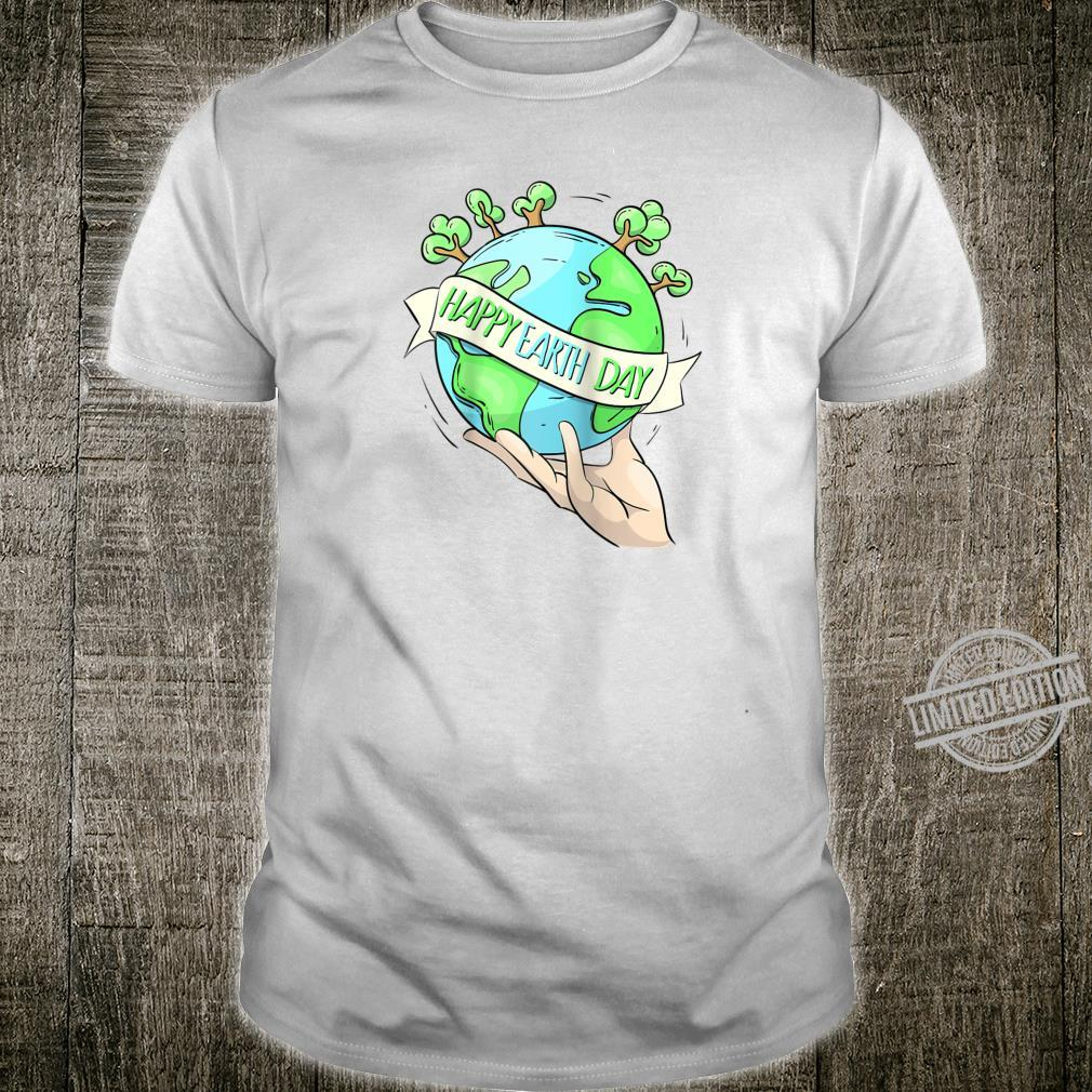 Earth Day Tee Natures Earth Day Happy Planet Shirt