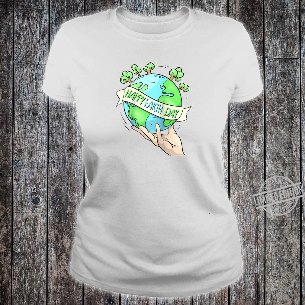 Earth Day Tee Natures Earth Day Happy Planet Shirt ladies tee