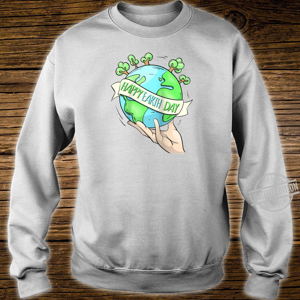 Earth Day Tee Natures Earth Day Happy Planet Shirt sweater