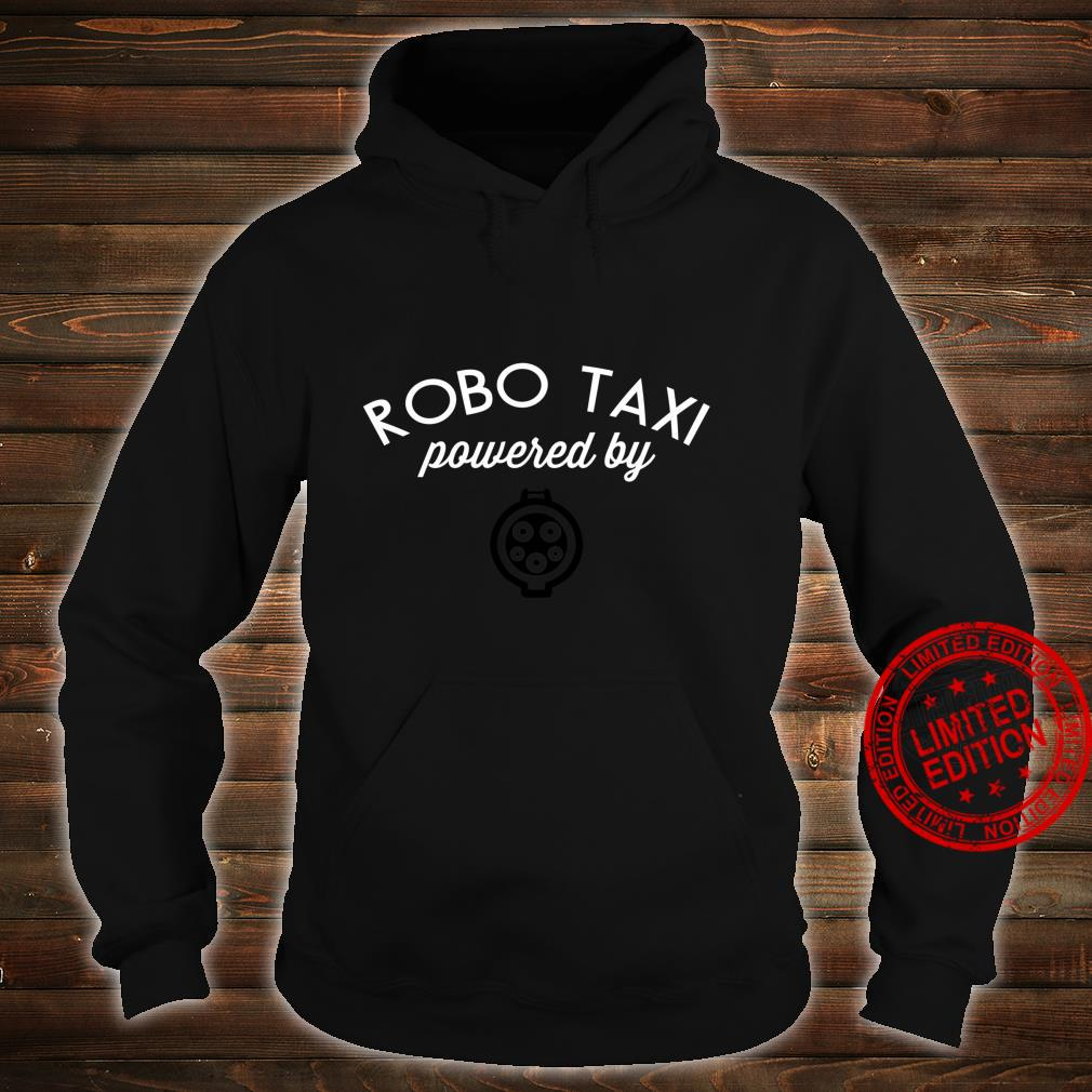 Electric Cars Idea EV Robo Taxi powered electric Cute Shirt hoodie