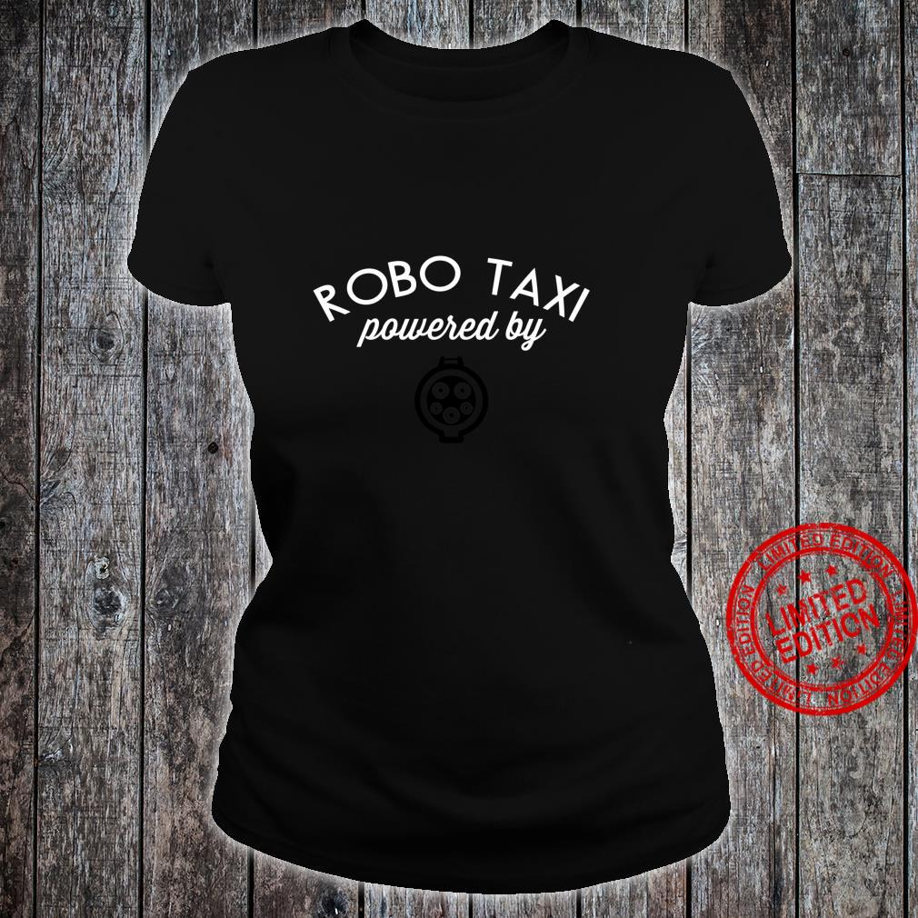 Electric Cars Idea EV Robo Taxi powered electric Cute Shirt ladies tee