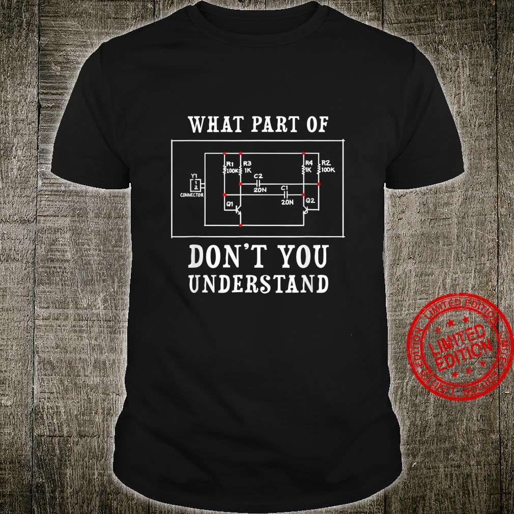 Electrical Engineer Jersey Shirt
