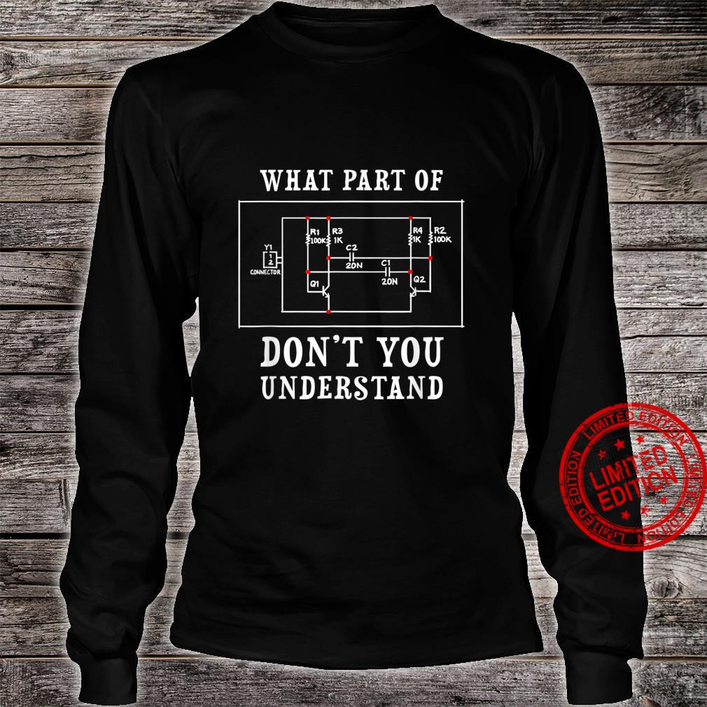 Electrical Engineer Jersey Shirt long sleeved