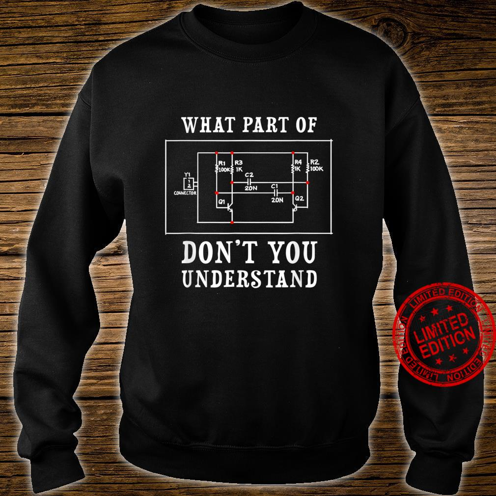 Electrical Engineer Jersey Shirt sweater