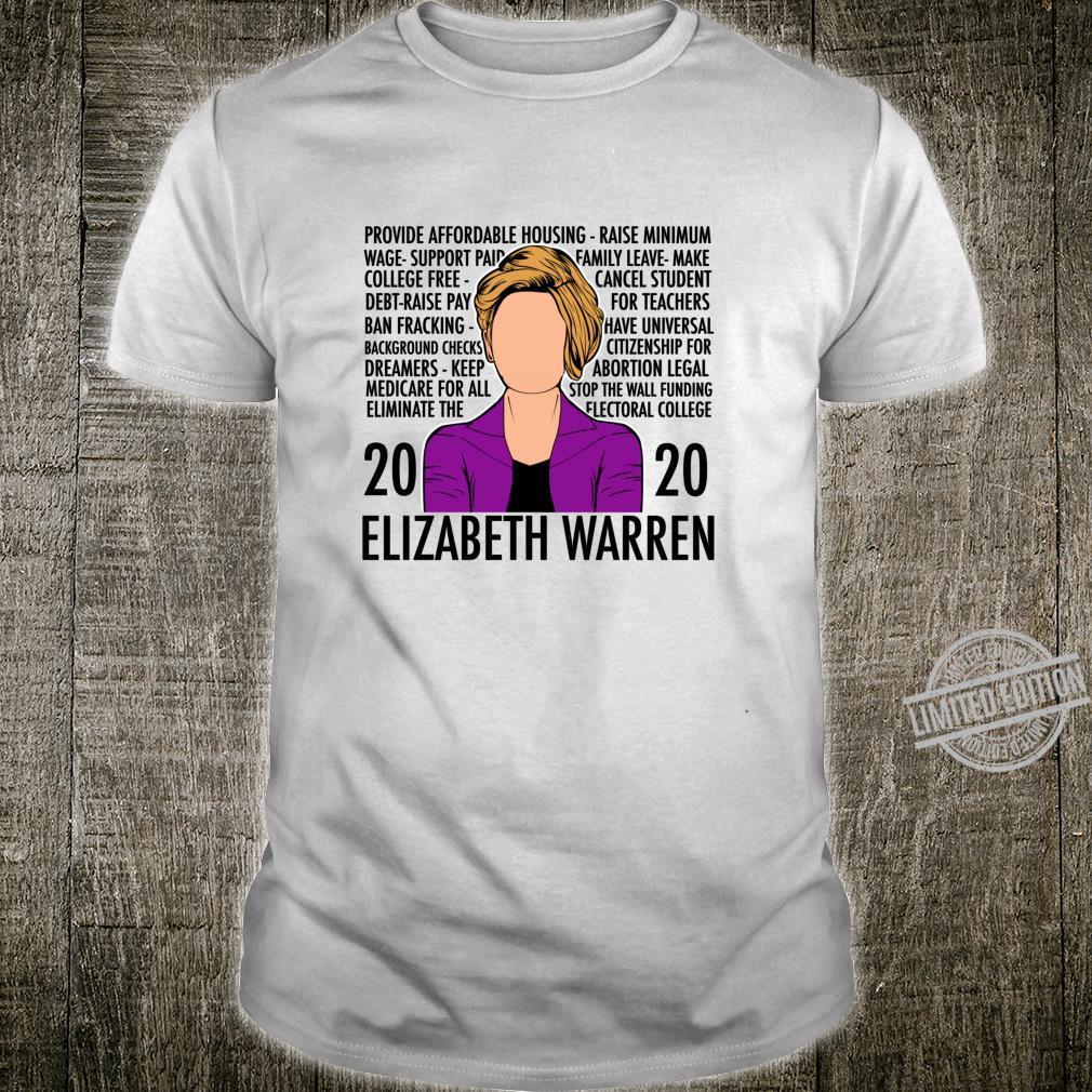 Elizabeth Warren Platform Democratic Debate Las Vegas Shirt