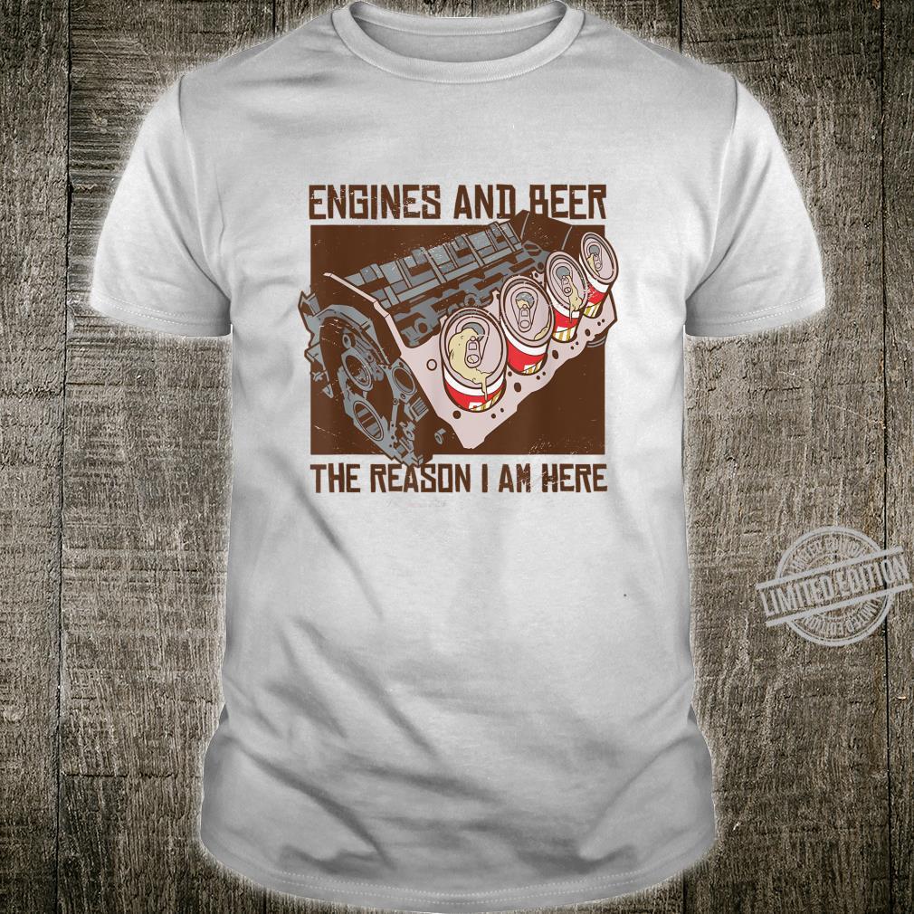 Engines & Beer Engineer Shirt