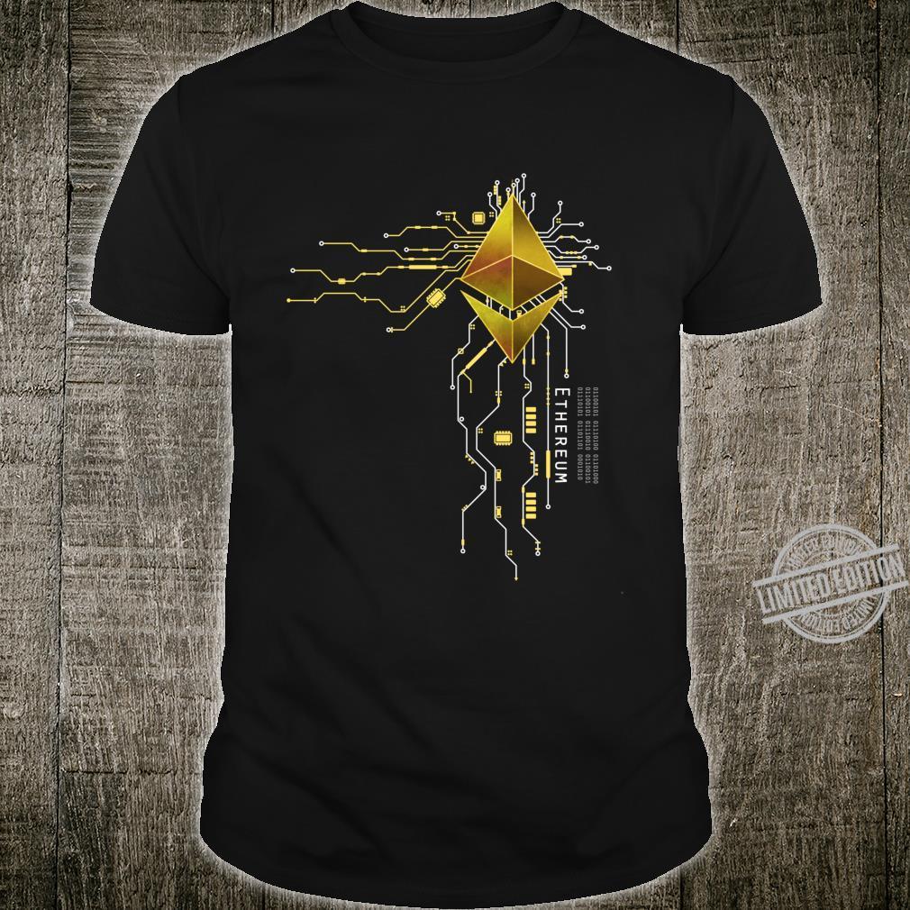 Ethereum GOLD ETH Heart Shirt