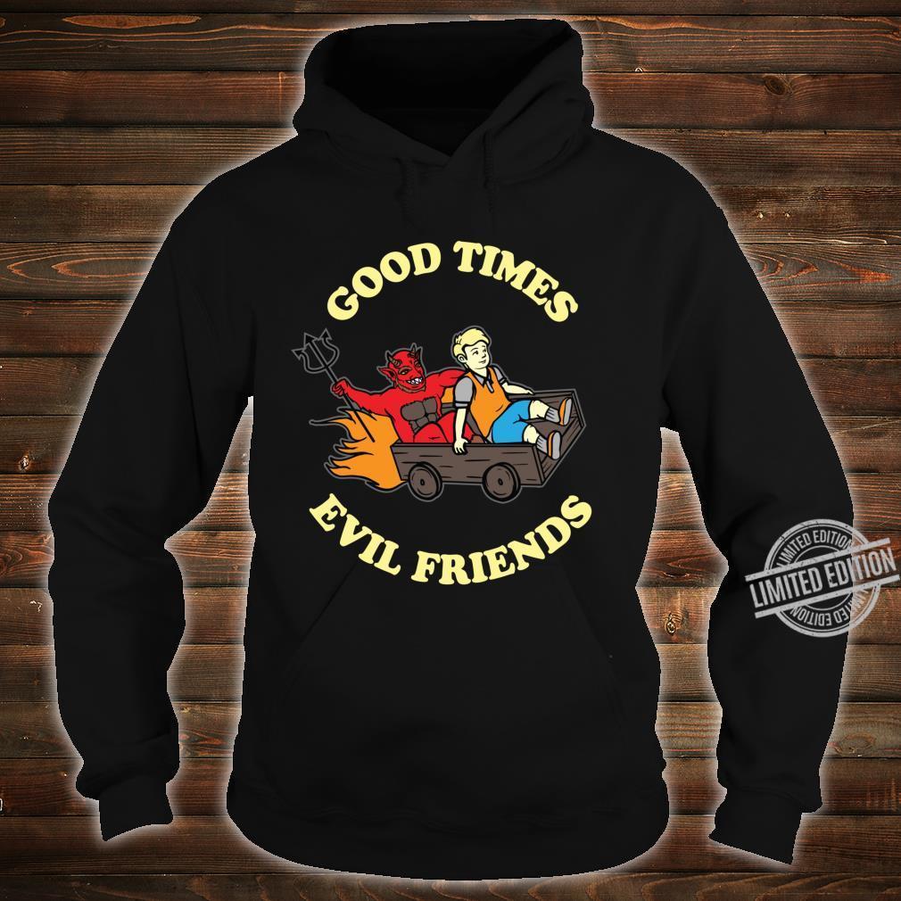 Evil Satanic Hail Satan Occult Shirt hoodie