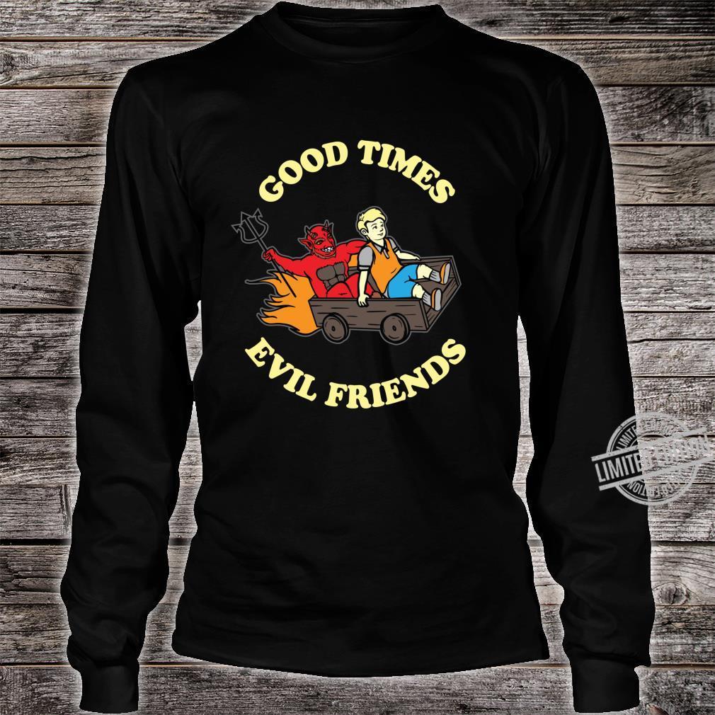 Evil Satanic Hail Satan Occult Shirt long sleeved
