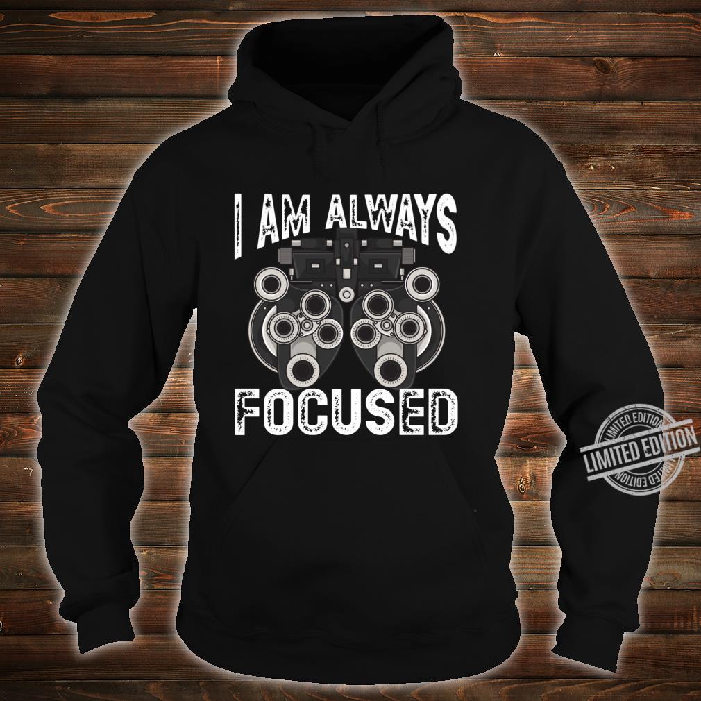 Eye Doctor Cool Professional Optometry Machine Phoropter Shirt hoodie