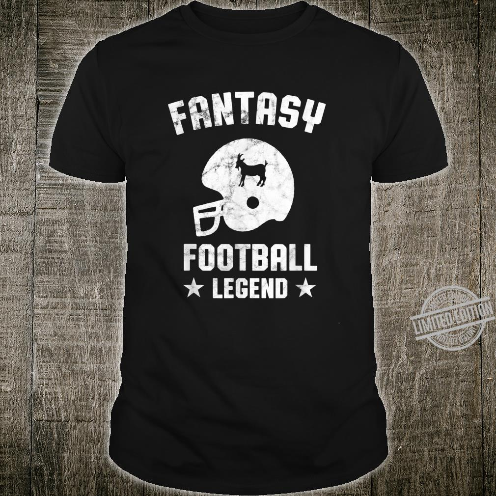 Fantasy Football Legend Vintage Draft Party Kit Trophäe Shirt