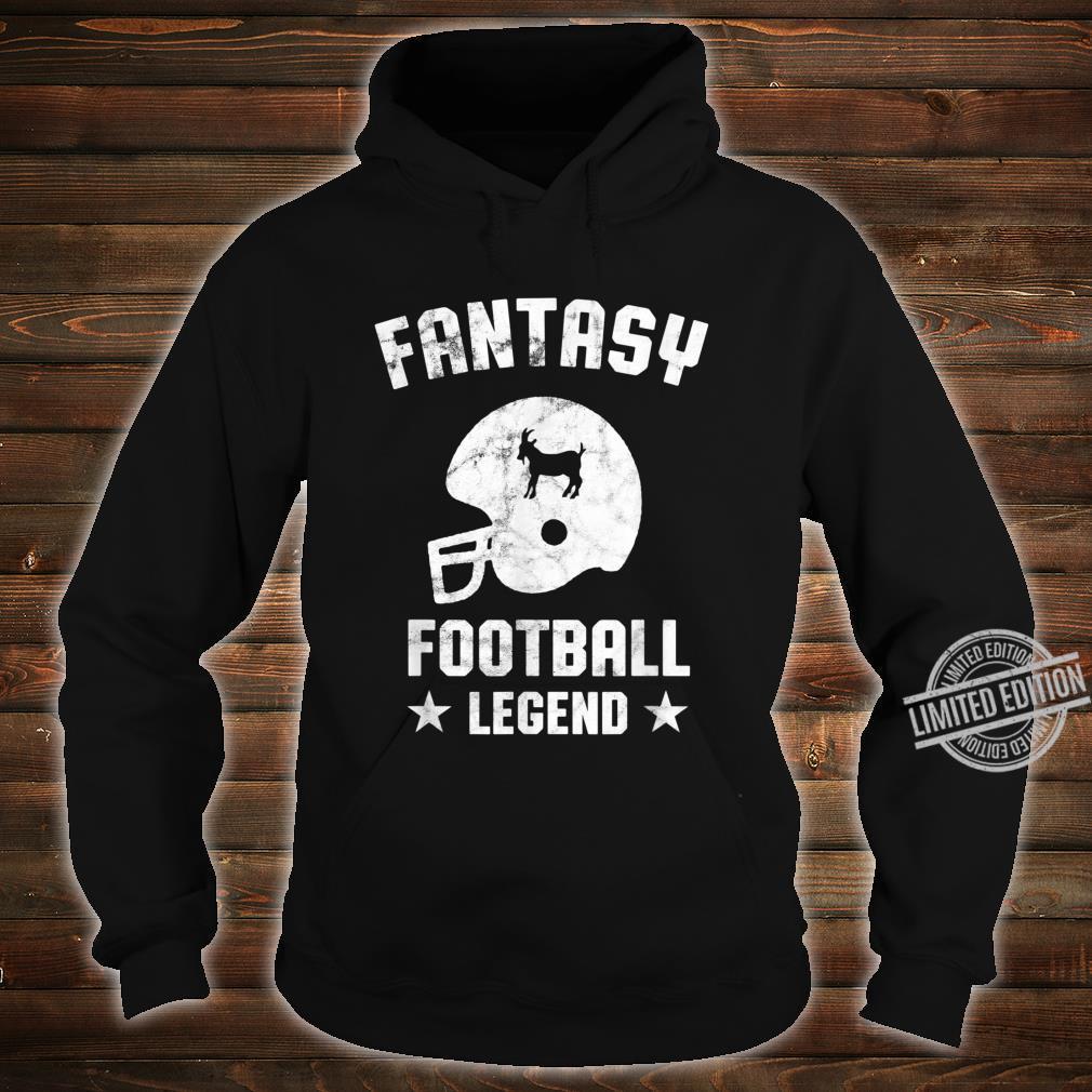 Fantasy Football Legend Vintage Draft Party Kit Trophäe Shirt hoodie