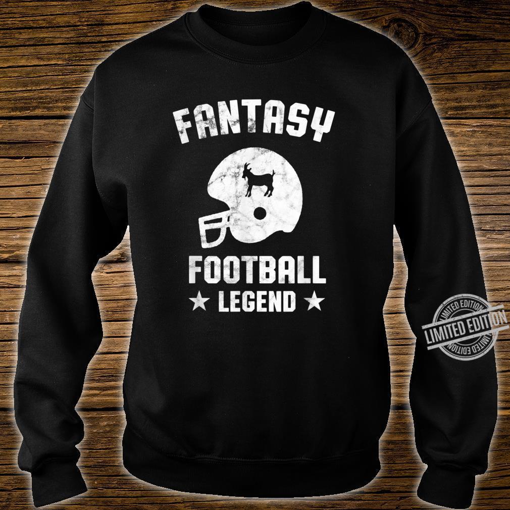 Fantasy Football Legend Vintage Draft Party Kit Trophäe Shirt sweater