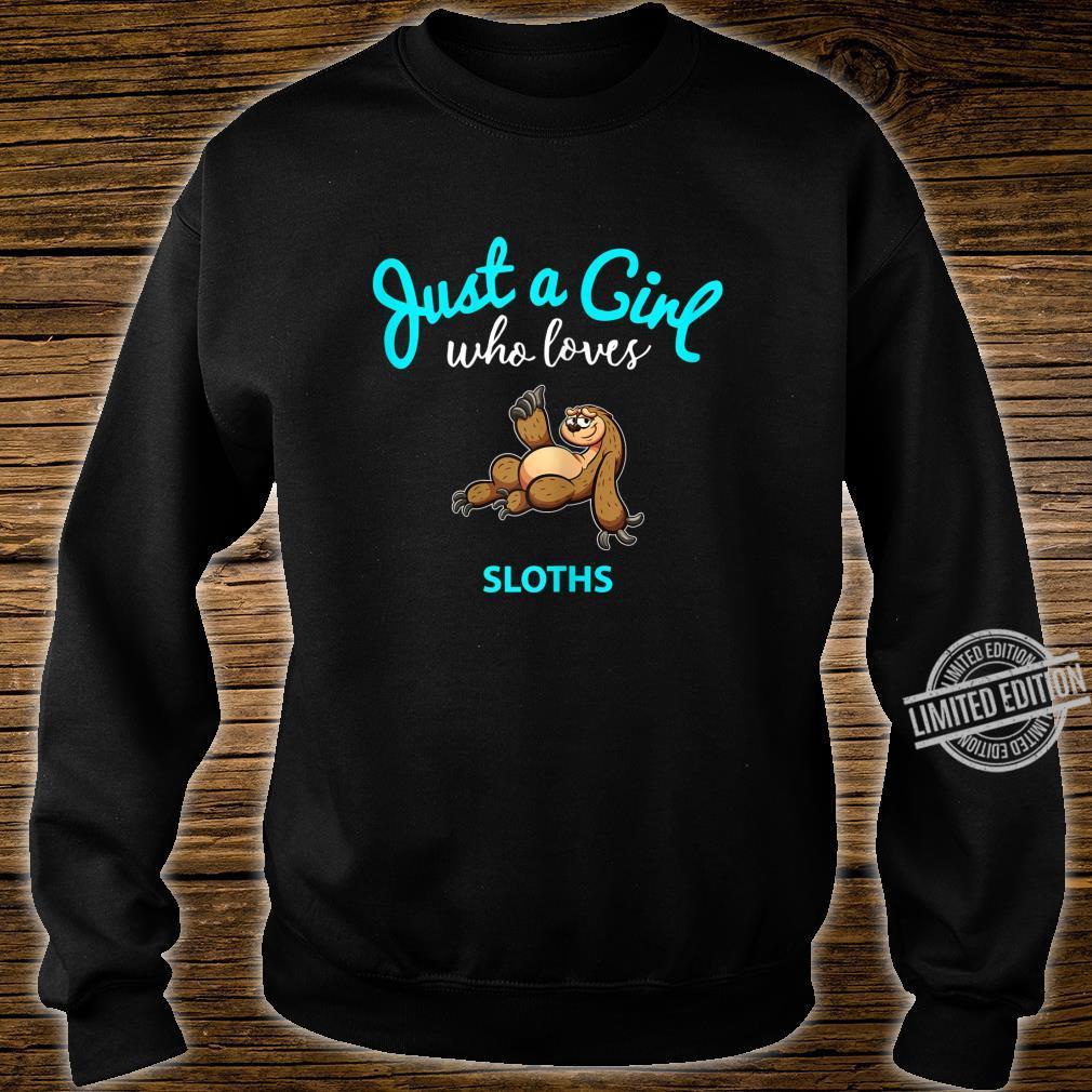 FaultierTShirt für Mädchen KinderFaultier Shirt sweater