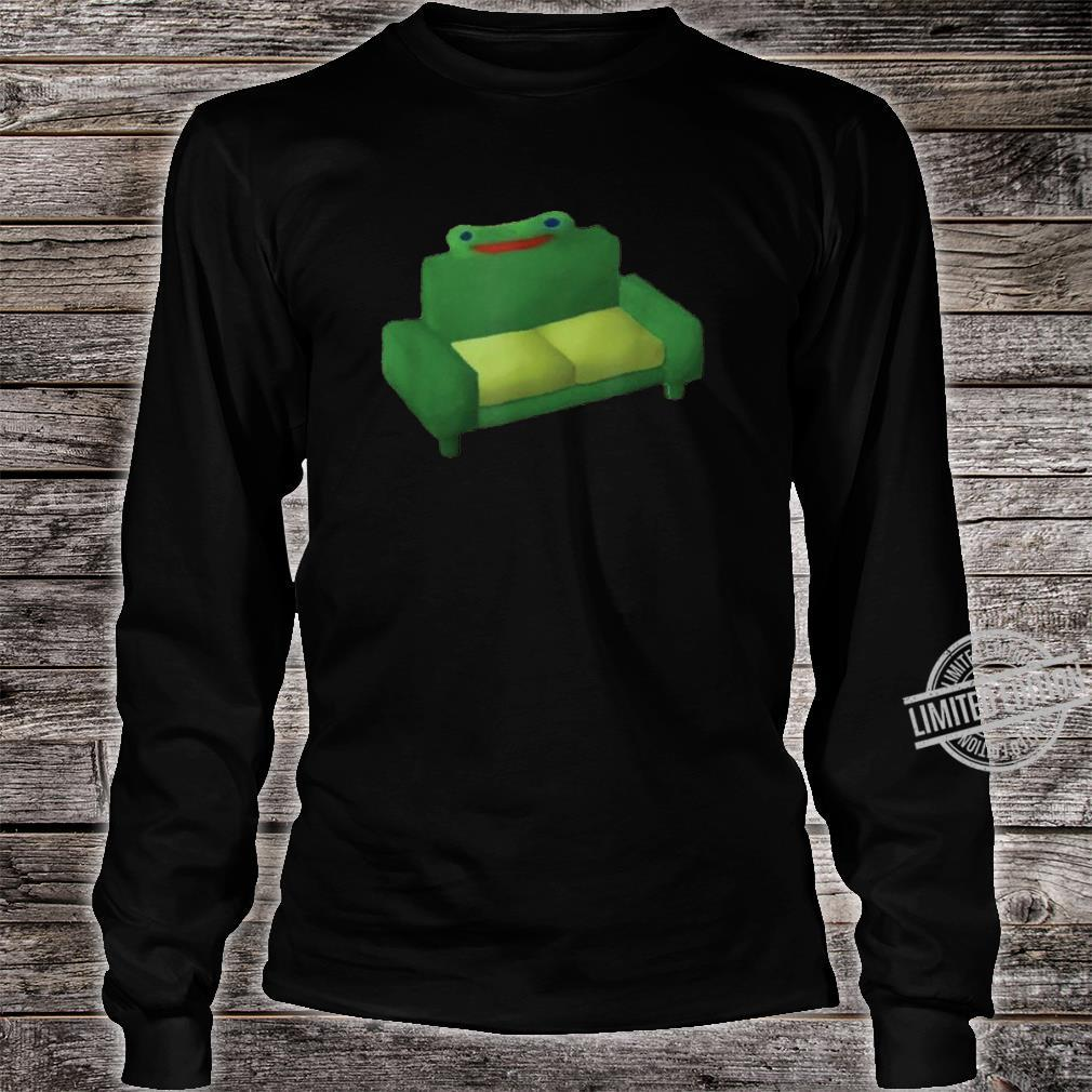 Froggy Couch Froggy Chair Chair Shirt long sleeved