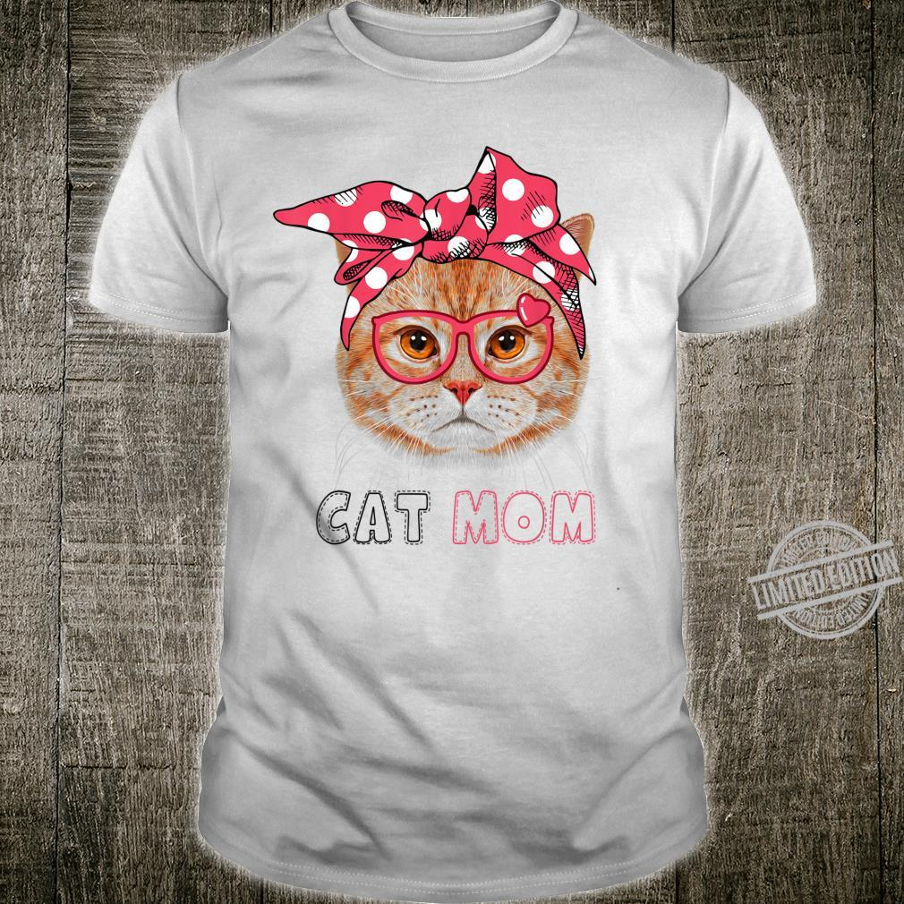 Funny Cat Mom Shirt for Cats Mothers Day Shirt