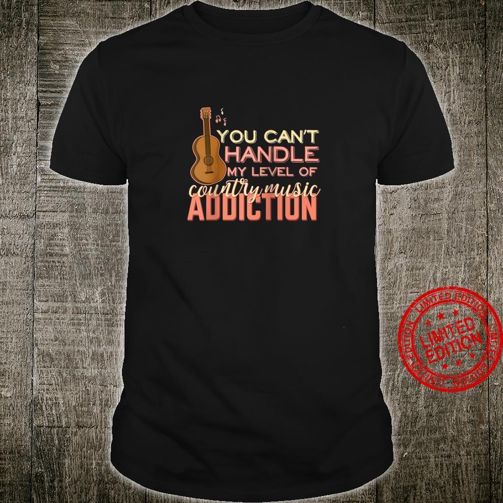 Funny Country Music Guitar Shirt