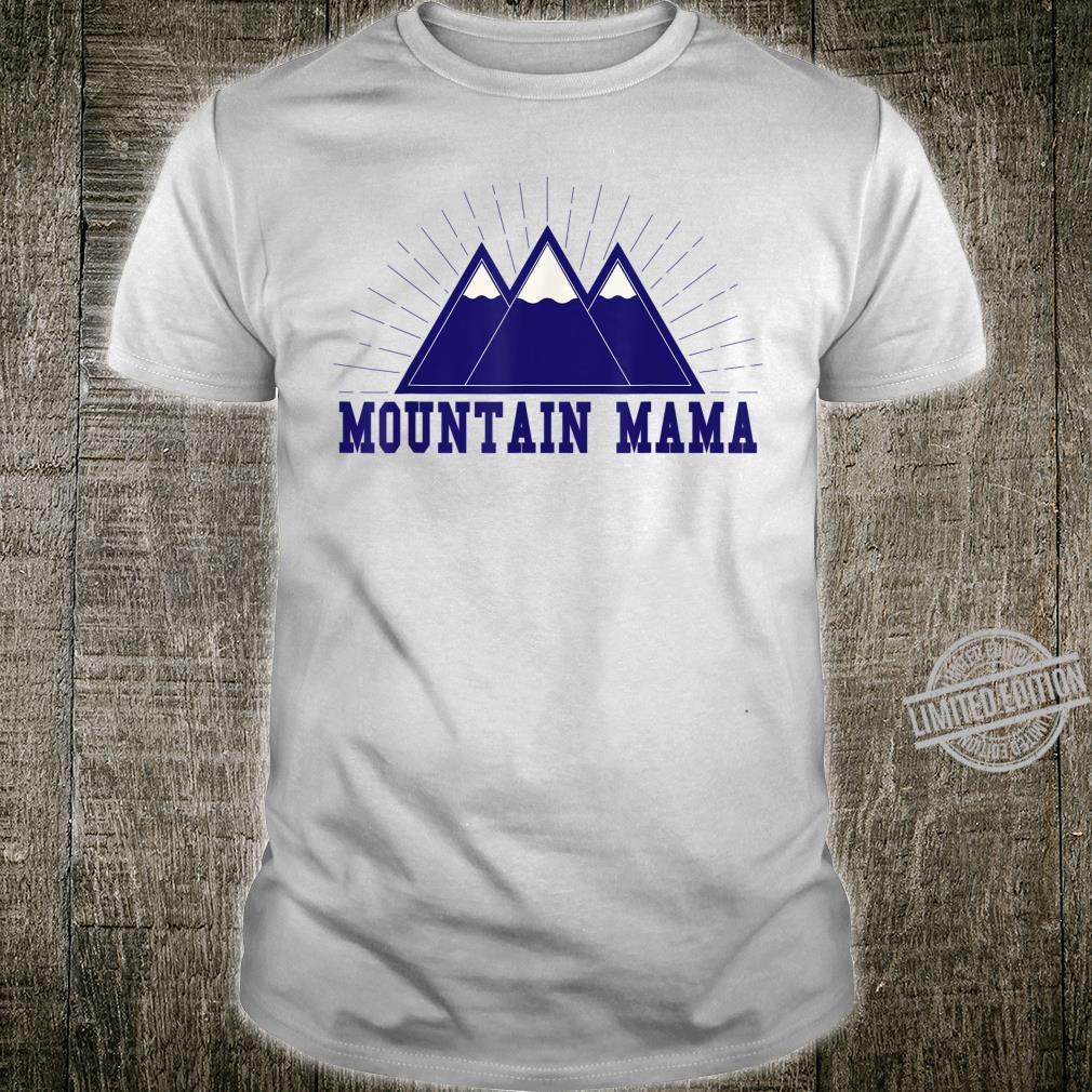 Funny Outdoor Sportss Mountain Mama Shirt