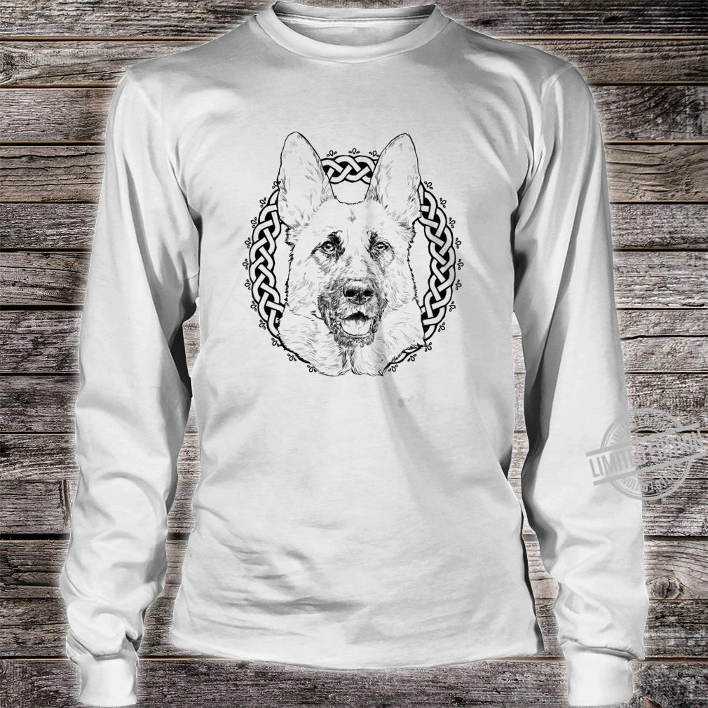 German Shepherd Owner Dog GSH German Shepherd Mom Shirt long sleeved