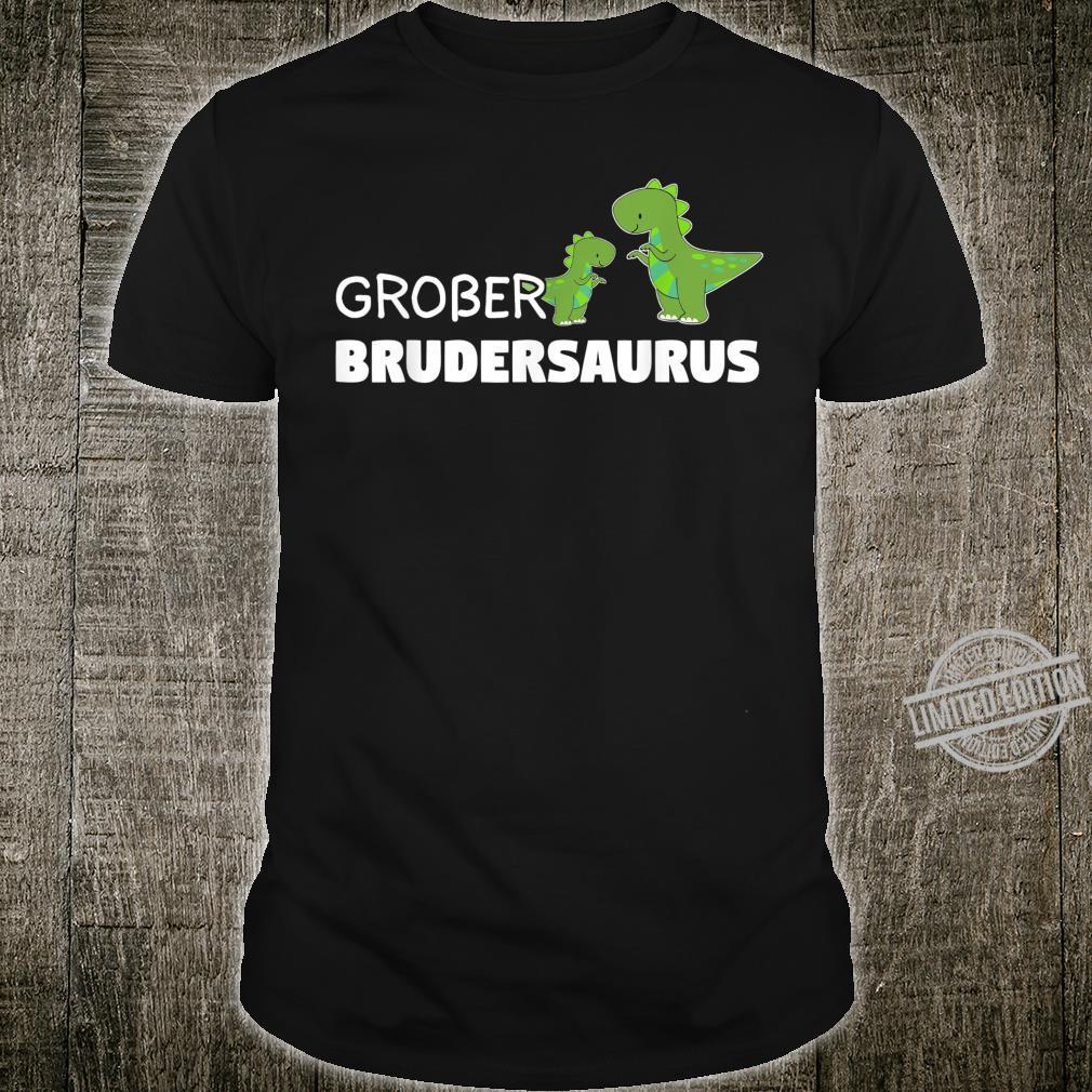 Großer Bruder Brudersaurus Dino TRex Geschenk Shirt